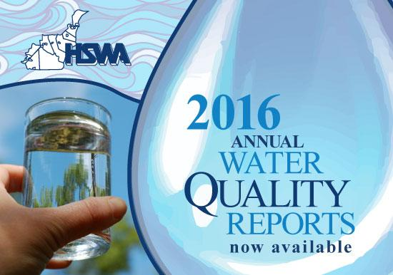 2016 Water Quality Reports