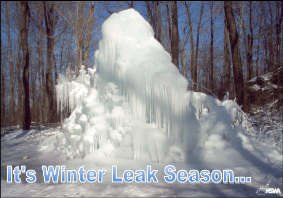 Winter Leak Season